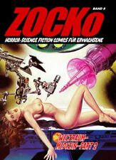 Zacko Zocko 12 Comic für Erwachsene Horror-SciFi Fumetti Neri Mila-Verlag Sun 5