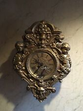 Japy Freres Satyr Bronze Gilt Wall Clock