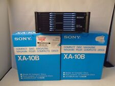 Sony Xa-10B Cd Changer Cartridge 10-Disc (3pk bundle)