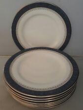 """ROYAL DOULTON BONE CHINA SHERBROOKE PATTERN 8 x 6.5"""" TEA PLATES"""