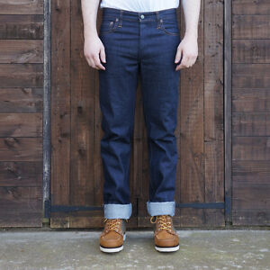 Left Field NYC 13oz Cone Mills Selvedge Chelsea Slim Jeans - Made in USA