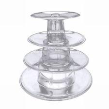 4Tier Macaron Tortenständer Tower Stand Kuchen Display Rack für Party Hochzeit
