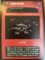 Star Wars CCG Death Star II Saber 4 NrMint-MINT SWCCG