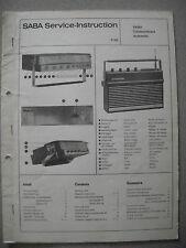 SABA Transcontinent Automatic Service Manual