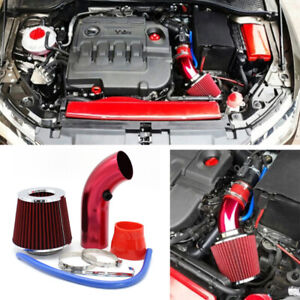 """3"""" Car Cold Air Intake System Turbo Induction Pipe Tube With Cone Air Filter"""