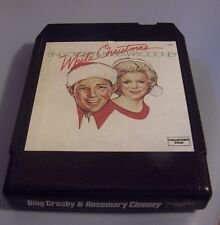 """Bing Crosby & Rosemary Clooney """"White Christmas"""" 8-track tape TESTED"""