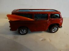 Vintage Hot wheels redline beach bomb 1969 mattel volkswagon hong kong red/rust!