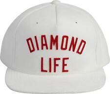 Diamond Supply Co Diamond Arch Snapback Hat in White (Topshelf Supply Co)