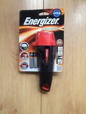 BRAND NEW ENERGIZER IMPACT RUBBER LED TORCH MODEL NO LP54821 C/W BATTERIES