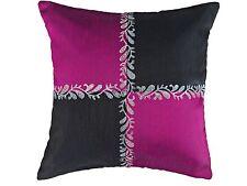 """26x26"""" Decorative Cushion Cover Floor Pillow Case  Black purple  66x66 cm"""