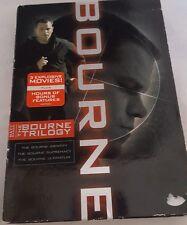 The Bourne Trilogy (DVD, 2008, 3-Disc Set) Matt Damon