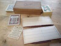Vintage Bridge Set Card Game
