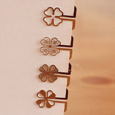 New 100pcs Mini Metal Bookmark Clips Cute Cartoon Animal Flower Cartoon Styles