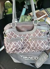 Jj Cole Satchel Diaper Bag Stone Arbor Stroller Straps