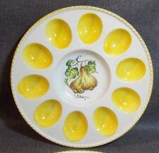 Porzellan Eierteller, Eierplatte, Servierteller, für 10 Eier,