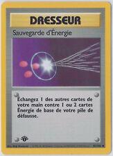 Sauvegarde d'Energie / Energy Retreival 81/102 1ST EDITION UNCOMMON BASE Set M