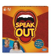 Hasbro Funny Speak Out Party Board Game Mouthguard Challenge Game NEW SEALED