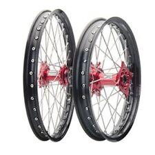 Yamaha YZ250F YZ250FX YZ450F YZ450FX Tusk Impact 21/19 Wheel Kit Black/Red