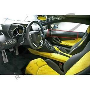Lamborghini Aventador Carbon Fiber Upper Door Sills