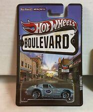 '63 Corvette * Light BLUE * Hot Wheels Boulevard * G3