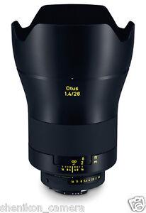New Carl Zeiss Otus Apo Distagon T* 28mm F1.4 ZF.2 Wide Angle Lens Nikon F Hood