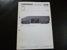ORIGINALI service manual Grundig fine arts CD 1