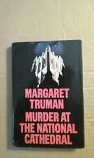 Murder at the National Cathedral by Margaret Truman 1990 Hardcover Good Conditio