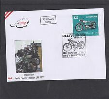 Austria 2015 Motor Cycle Delta Gnom First Day Cover FDC Hartberg pictorial h/s