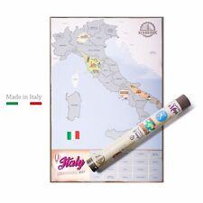 Scratch Map Italia | L'unica Mappa da Grattare Made in Italy |
