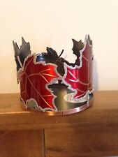 Bath & Body Works 3 Wick Red Leaves Candle Holder