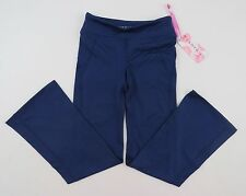 Soybu Girls Little Caboose Yoga Pants Girls Size XS 4/5 Navy Blue NWT