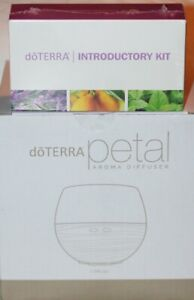 doTERRA Petal Aroma Diffuser New In Box with oil starter kit & free shipping