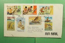 DR WHO 1983 TOKELAU ATAFU AIRMAIL TO USA  g14082