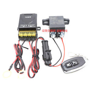 Wireless Control 12V Car Battery Isolator Disconnect Cut Off Power Kill Switch