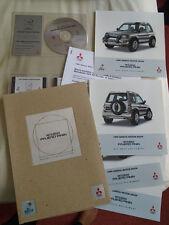 Mitsubishi Pajero Press Release brochure 1999 Geneva Motor Show English text