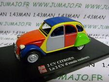 voiture 1/43 ELIGOR Autoplus CITROËN 2CV n°18 : essais couleurs