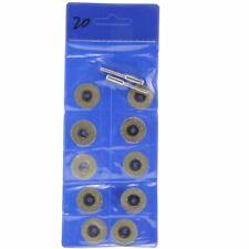 10Pcs 20 mm Small Diamond Cutting Disc Abrasive Wheels Rotary Blades Saws