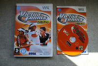 Jeu VIRTUA TENNIS 2009 pour Nintendo Wii