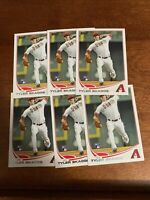 2013 Topps Tyler Skaggs #173 Lot Of 6 Rookie Cards