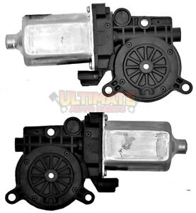 Front Power Window Motors Pair Left Right for 99-04 Buick Regal