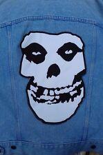Misfits Crimson Ghost embroidered back patch hardcore punk danzing ramones