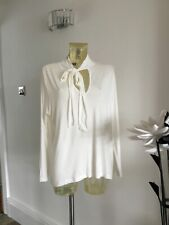 BNWT LADIES MARKS & SPENCER  SUMMER TOP  TIE BOW SIZE 20