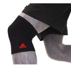 Adidas Knee Support Brace Sleeve Protector Sports Injury Rehab Gym Running