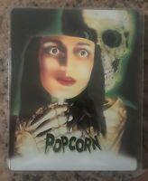 Popcorn blu ray steelbook Collectors edition synapse rare oop 1991 Horror