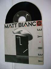 "MATT BIANCO - YEH YEH - 7"" VINYL ITALY 1985 EXCELLENT"