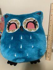 Teal Owl Decor Pillows