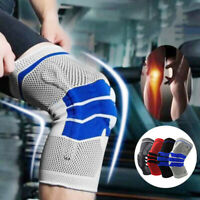 KE_ 1Pc Knee Support Brace Strap Compression Sleeve Sports Protector Running E