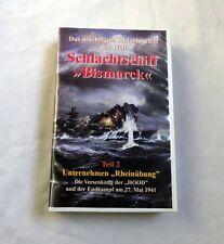 Schlachtschiff Bismarck Teil 2 - Unternehmen Rheinübung VHS