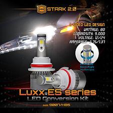 Stark LED 80W 9000LM 6000K 6K White Kit Head Light Dual Hi / Lo - 9007 HB5 (A)