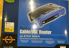 Linksys EtherFast Cable/Dsl Router Befsr81 8-Port 10/100 Brand New
